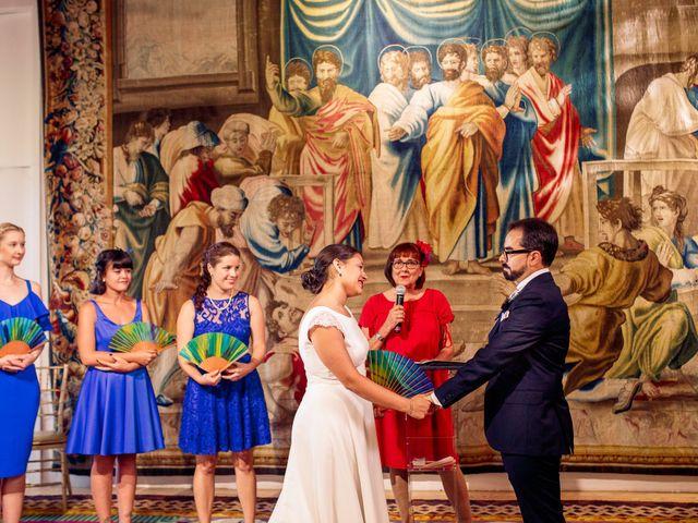 La boda de Luismi y Christina en Madrid, Madrid 25