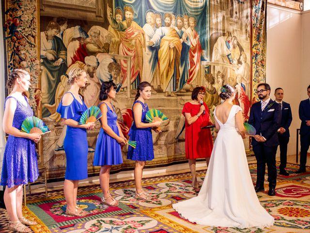 La boda de Luismi y Christina en Madrid, Madrid 28