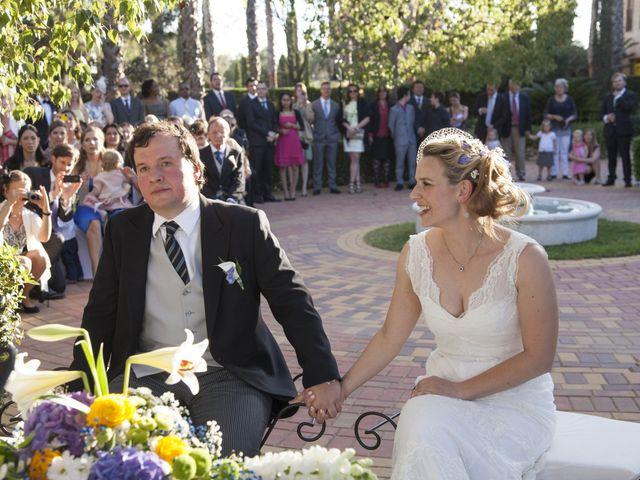 La boda de Claus y Katrin en Bétera, Valencia 14
