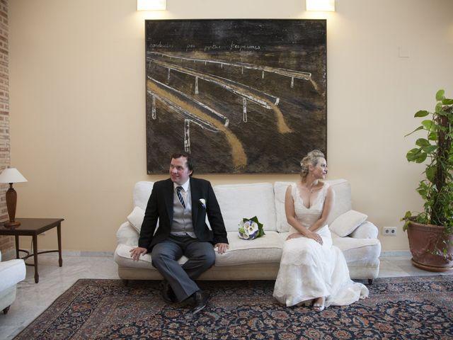 La boda de Claus y Katrin en Bétera, Valencia 2
