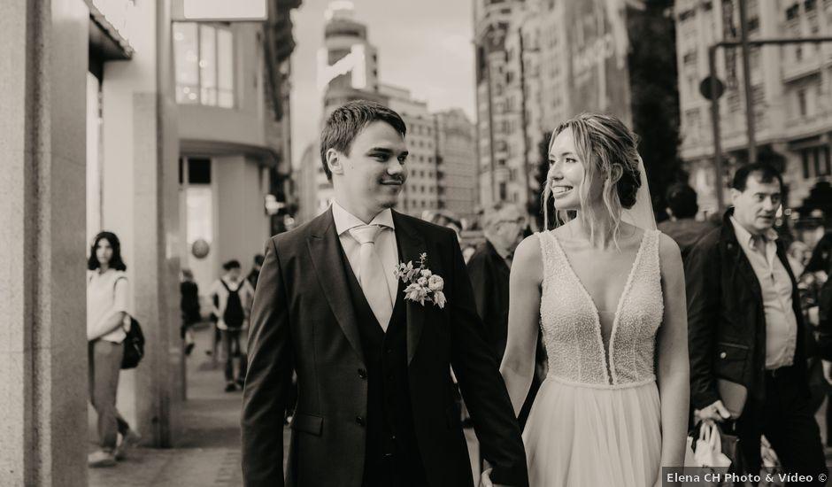 La boda de Alexey y Katerina en Madrid, Madrid