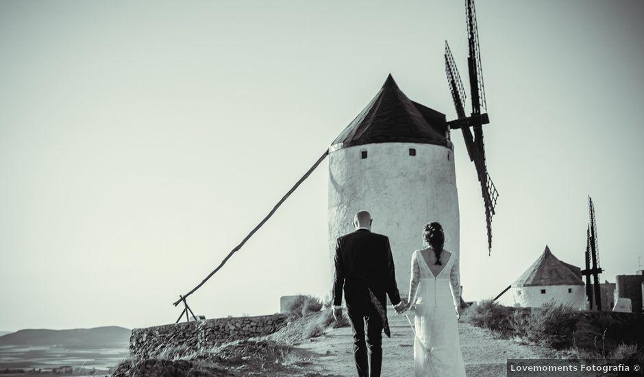 La boda de Stuart y Eva en Consuegra, Toledo