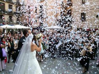 La boda de Vicenç y Rosa
