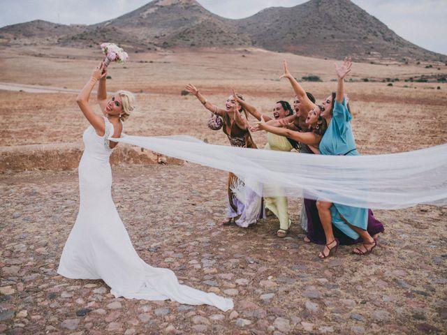 La boda de Jaime y Maria del Mar en El Cabo De Gata, Almería 82