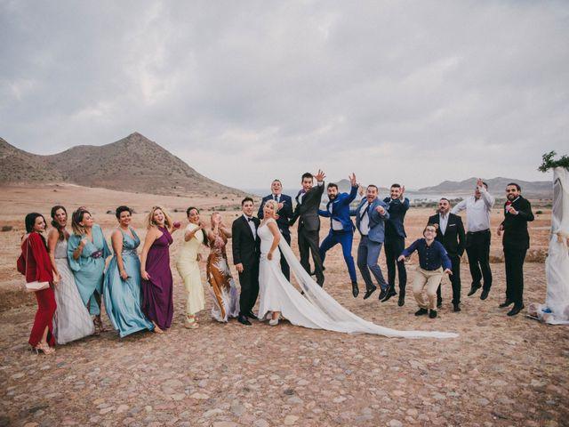 La boda de Jaime y Maria del Mar en El Cabo De Gata, Almería 87