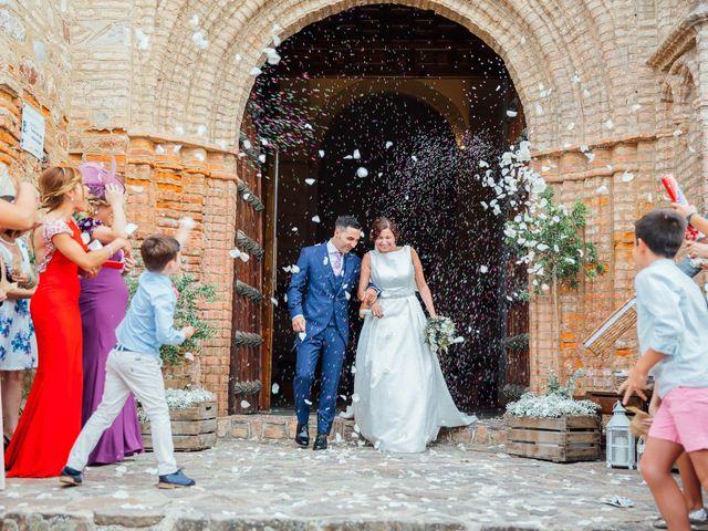 La boda de Daniel y Veronica en Herrera Del Duque, Badajoz 40