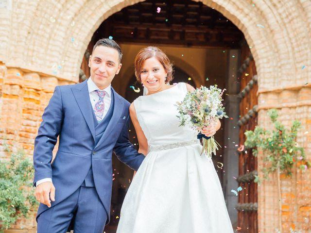 La boda de Daniel y Veronica en Herrera Del Duque, Badajoz 42
