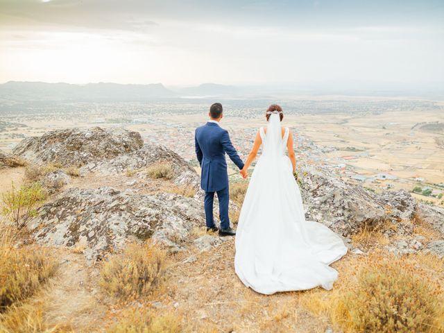 La boda de Daniel y Veronica en Herrera Del Duque, Badajoz 54