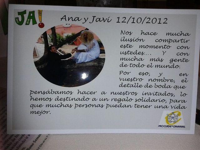 La boda de Ana y Javi  en Las Palmas De Gran Canaria, Las Palmas 19