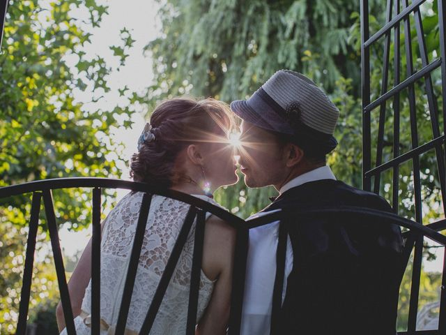 La boda de Emily y Darwin