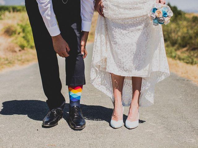 La boda de Darwin y Emily en Laguardia, Álava 1