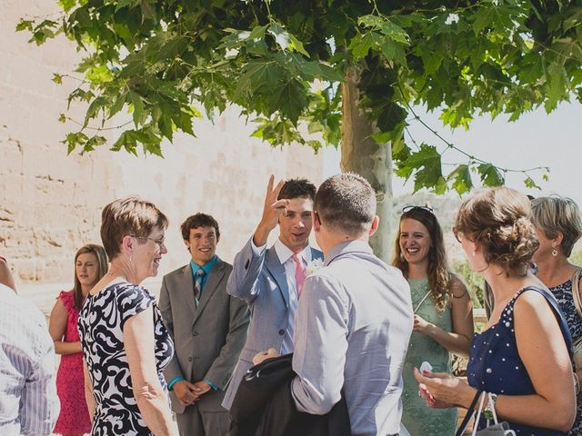 La boda de Darwin y Emily en Laguardia, Álava 34