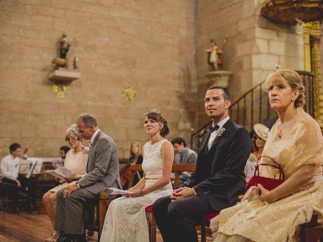La boda de Darwin y Emily en Laguardia, Álava 45