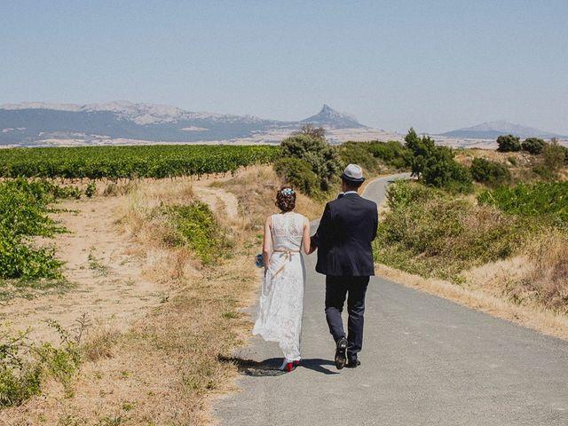 La boda de Darwin y Emily en Laguardia, Álava 67