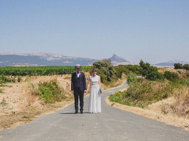 La boda de Darwin y Emily en Laguardia, Álava 68
