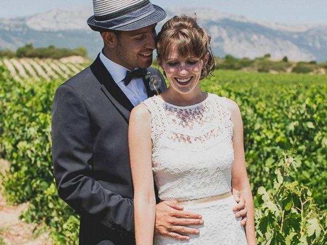 La boda de Darwin y Emily en Laguardia, Álava 73