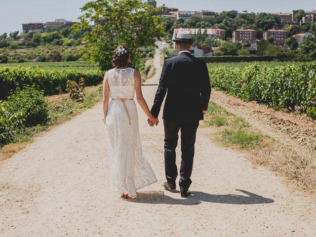 La boda de Darwin y Emily en Laguardia, Álava 91