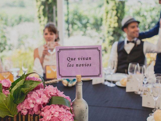 La boda de Darwin y Emily en Laguardia, Álava 122