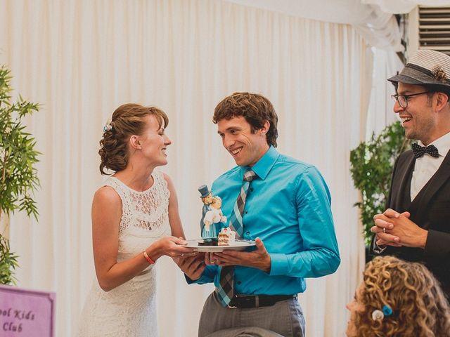 La boda de Darwin y Emily en Laguardia, Álava 126