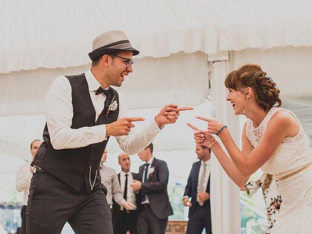 La boda de Darwin y Emily en Laguardia, Álava 134