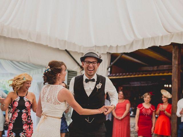 La boda de Darwin y Emily en Laguardia, Álava 136