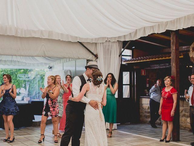 La boda de Darwin y Emily en Laguardia, Álava 142
