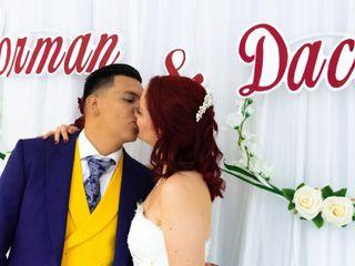 La boda de Yorman y Dacil