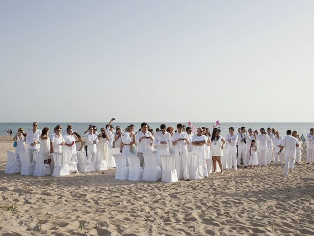 La boda de Fernando y Jezabel en Rota, Cádiz 1