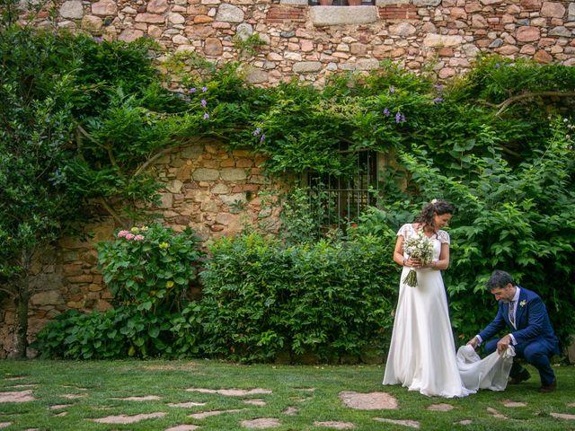 La boda de Miguel y Reyes en Viladrau, Girona 27