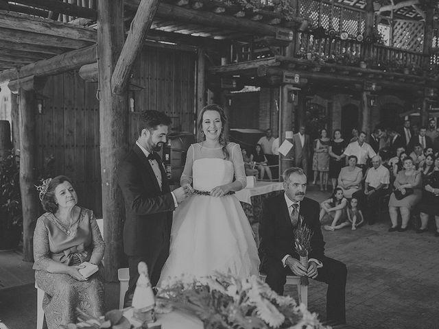 La boda de César y Aroha en Villarrubia De Los Ojos, Ciudad Real 43