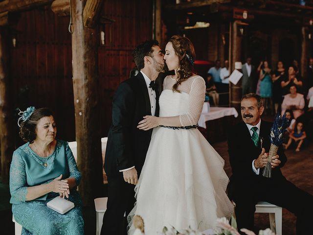 La boda de César y Aroha en Villarrubia De Los Ojos, Ciudad Real 45