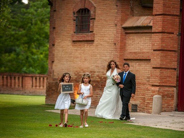 La boda de Xavi y Alejandra en Sant Cugat Del Valles, Barcelona 14