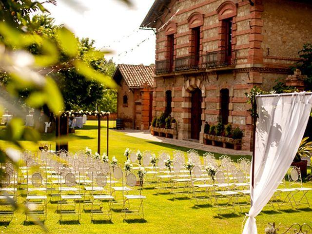 La boda de Xavi y Alejandra en Sant Cugat Del Valles, Barcelona 1