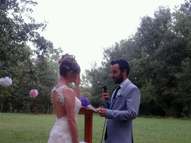 La boda de Xavi y Laura en Can Sola, Girona 1