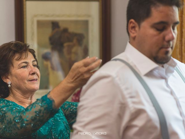 La boda de Angel y Agueda en Villalba Del Alcor, Huelva 1