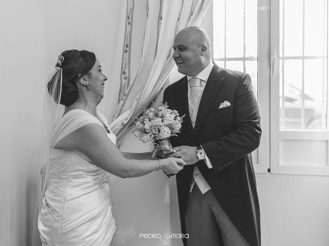 La boda de Angel y Agueda en Villalba Del Alcor, Huelva 7
