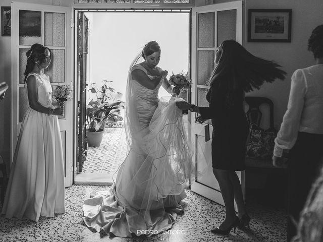 La boda de Angel y Agueda en Villalba Del Alcor, Huelva 8