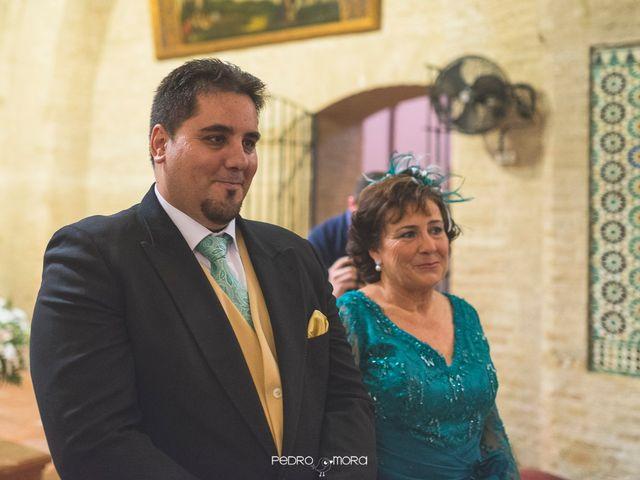 La boda de Angel y Agueda en Villalba Del Alcor, Huelva 11