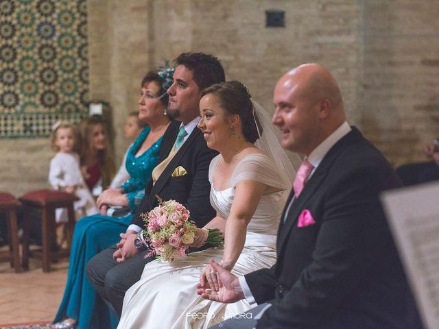 La boda de Angel y Agueda en Villalba Del Alcor, Huelva 12