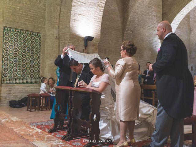 La boda de Angel y Agueda en Villalba Del Alcor, Huelva 14
