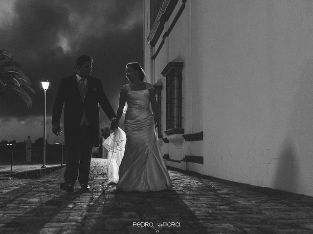 La boda de Angel y Agueda en Villalba Del Alcor, Huelva 18