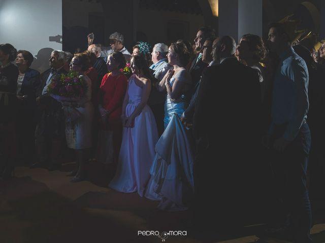 La boda de Angel y Agueda en Villalba Del Alcor, Huelva 28