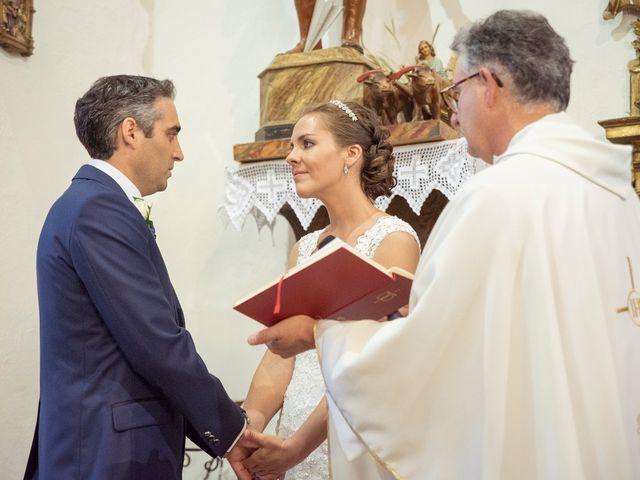La boda de Tomás y Victoria en Langa, Ávila 17