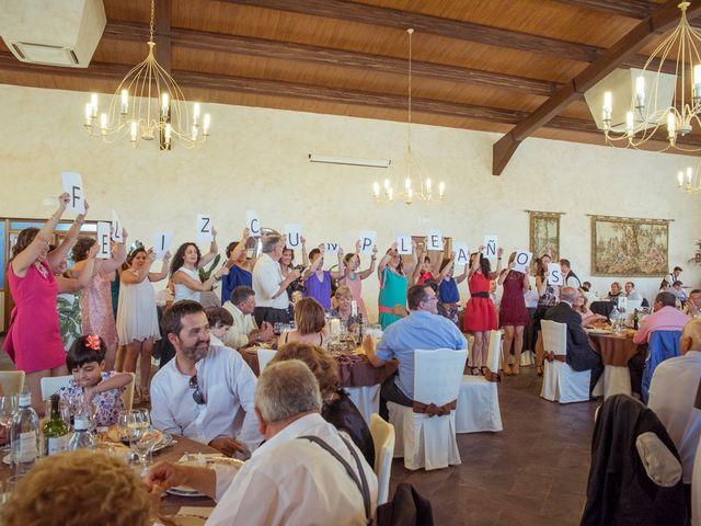 La boda de Tomás y Victoria en Langa, Ávila 36