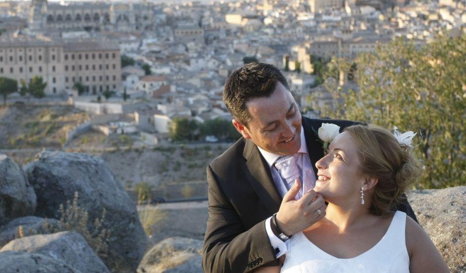 La boda de Ana y Víctor  en Toledo, Toledo