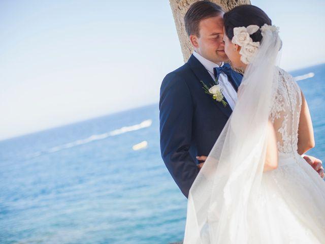 La boda de María y Laurent