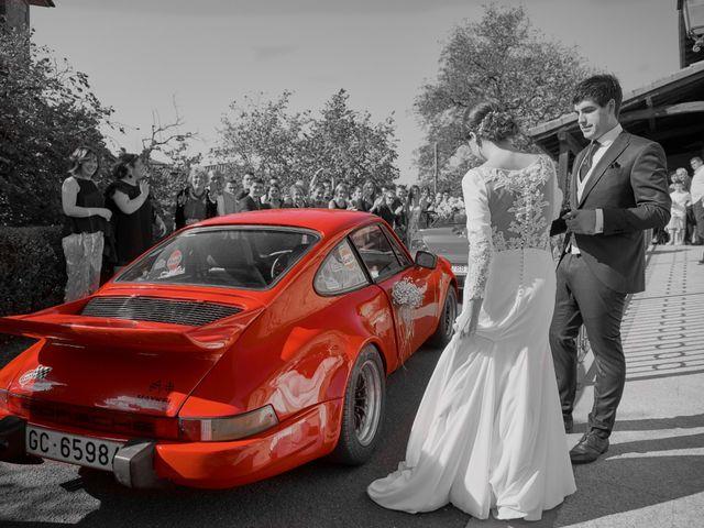 La boda de Iokin y Arantzazu en Azpeitia, Guipúzcoa 13