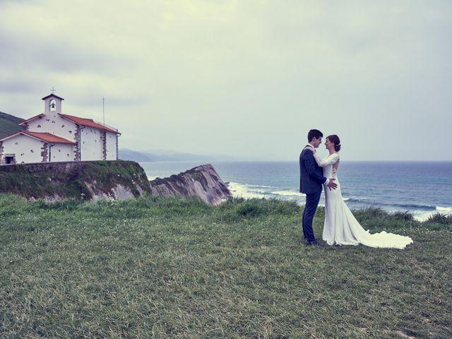 La boda de Iokin y Arantzazu en Azpeitia, Guipúzcoa 1