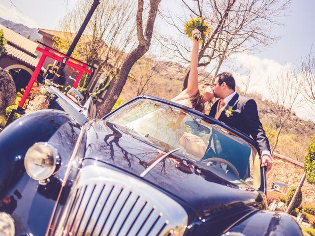 La boda de Sergio y Marian en Miraflores De La Sierra, Madrid 71