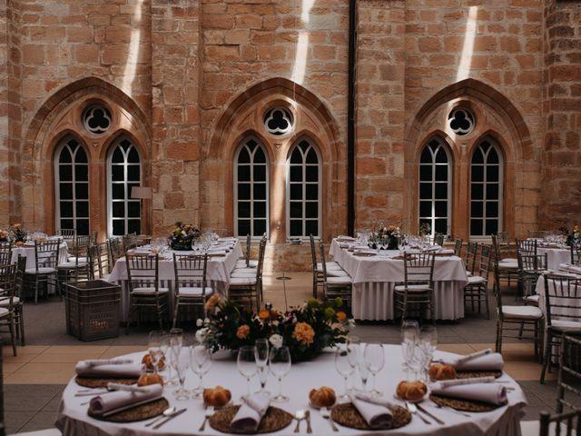 La boda de Ricardo y Eva en Santa Gadea Del Cid, Burgos 4